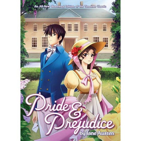Pride and Prejudice - (Illustrated Classics) by  Jane Austen (Paperback) - image 1 of 1