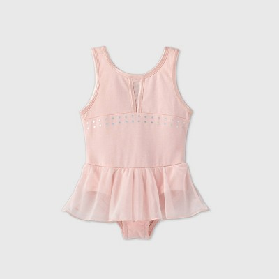 Toddler Girls' Dance Skirted Leotard - More Than Magic™ Pink