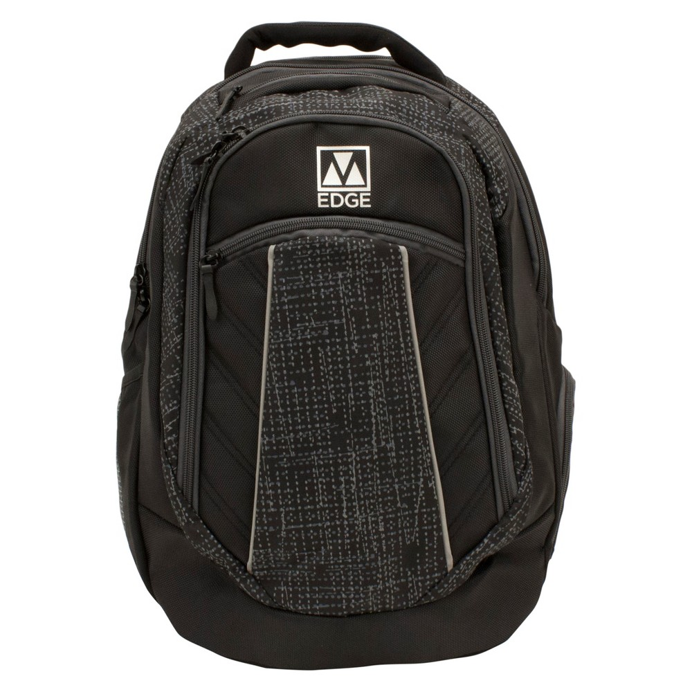 "Image of ""M-Edge 20"""" Commuter Backpack with Built-in 6000 mAh Portable Charger - Black"""