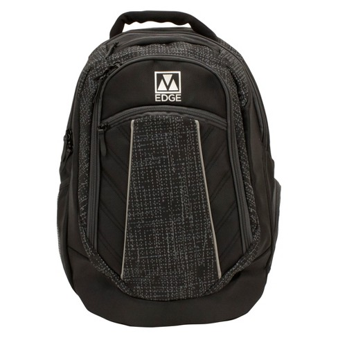 """M-Edge 20"""" Commuter Backpack with Built-in 6000 mAh Portable Charger - Black - image 1 of 2"""