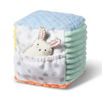 Baby Soft Block & Rattle - Cloud Island™