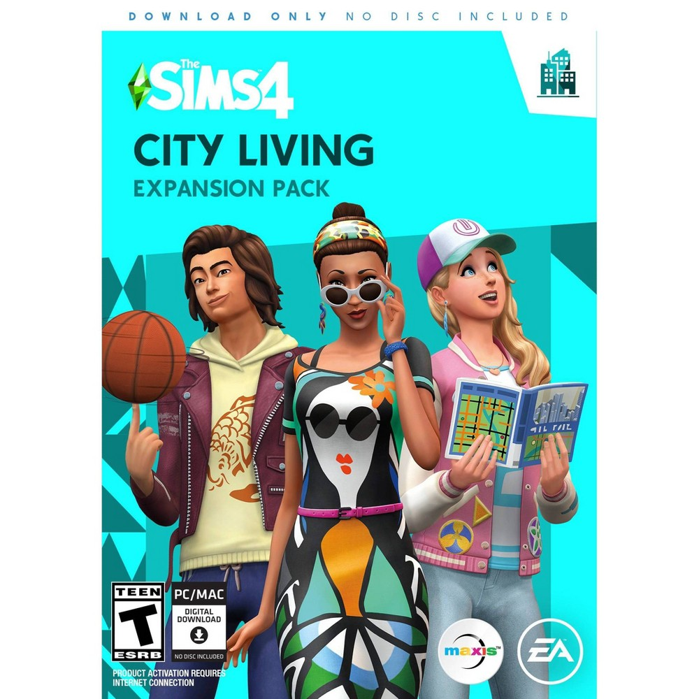 The Sims 4 City Living Expansion Pack PC Game was $39.99 now $19.99 (50.0% off)