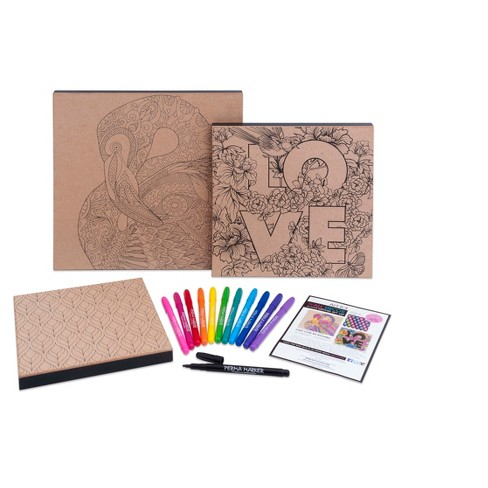 art 101 wood canvas art kit 3ct target