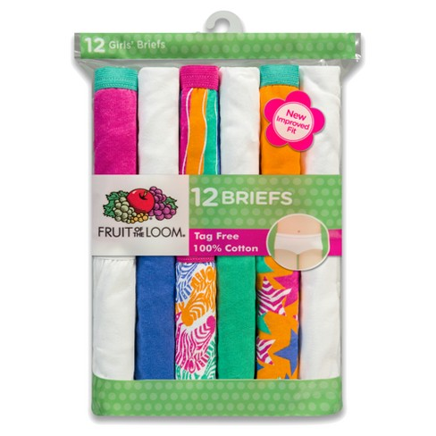 a0be0d7e84fb Girls' Fruit of the Loom 12pk Briefs - Multi-Colored. Shop all Fruit of the  Loom