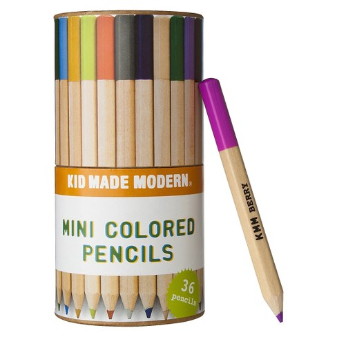 Kid Made Modern 36ct Mini Colored Pencils - image 1 of 2