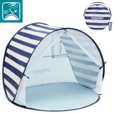 Babymoov Kid's UV Resistant Portable Pop-Up Sun Shelter and Marine Play Tent with Convenient Carry Bag for Babies to Young Kids, Navy
