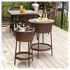 Phaedra 2pc Wicker Bucket Set - Brown - Christopher Knight Home - image 2 of 4