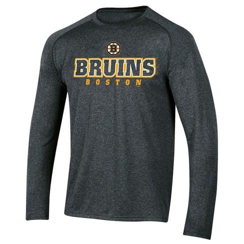 NHL Boston Bruins Men s Goal Scorer Long Sleeve Performance T-Shirt ... 1b4d22d99