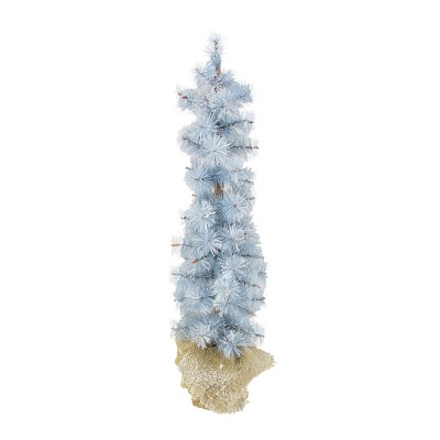 Allstate Floral 2' Unlit Winter Light Frosted Pine Artificial Christmas Tree
