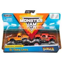 Monster Jam 1:64 - El Toro Loco vs Slinger - 2pk