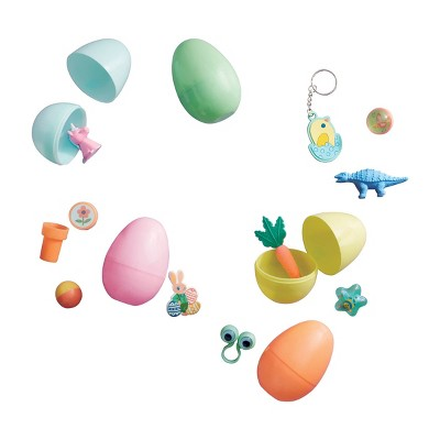 12ct Pre-Filled Easter Plastic Eggs with Toys - Spritz™
