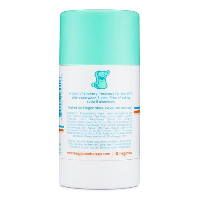 Megababe Soapy Pits Daily Deodorant - 2.6oz