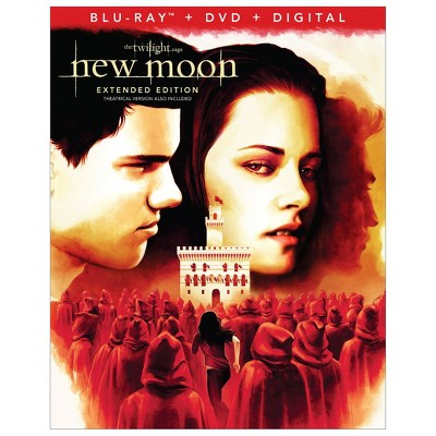 Twilight Saga : The New Moon (Blu-ray + DVD + Digital)