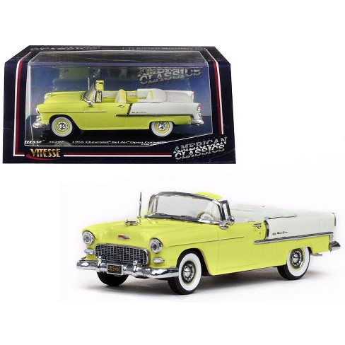 1955 Chevrolet Bel Air Open Convertible Harvest Gold And Yellow 143
