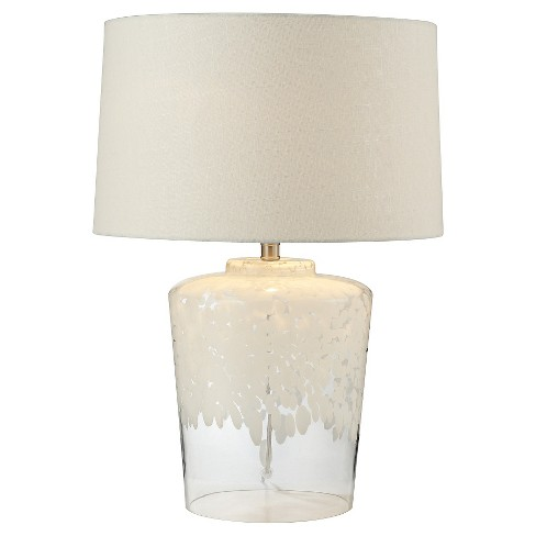Lazy Susan Flurry Frit Well Boutique Lamp