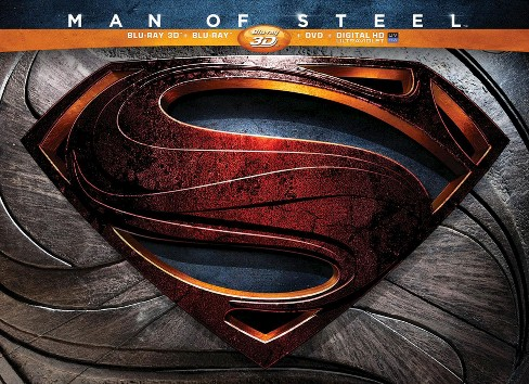 Man of steel 3d (Blu-ray) - image 1 of 1