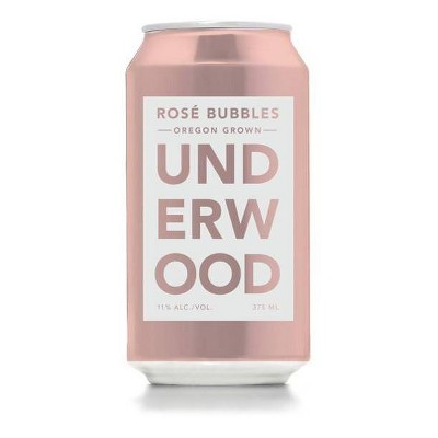 Underwood Rosé Bubbles Wine - 375ml Can