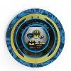 Batman 3pc Melamine Dinnerware Set - Zak Designs - image 2 of 4