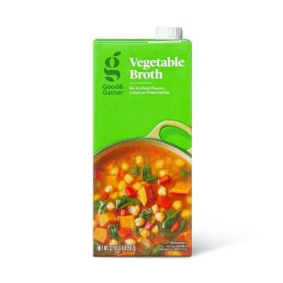 Vegetable Broth - 32oz - Good & Gather™