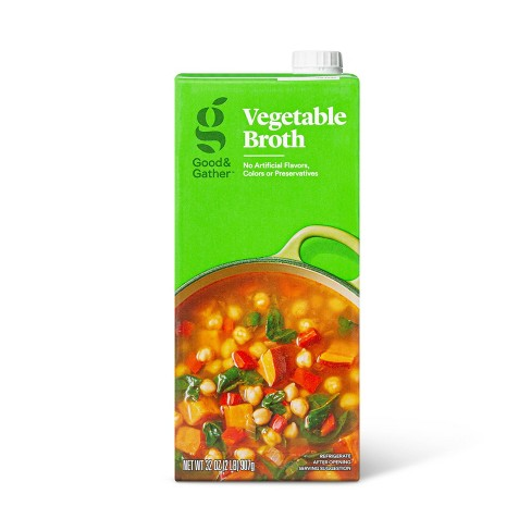 Vegetable Broth - 32oz - Good & Gather™ - image 1 of 3