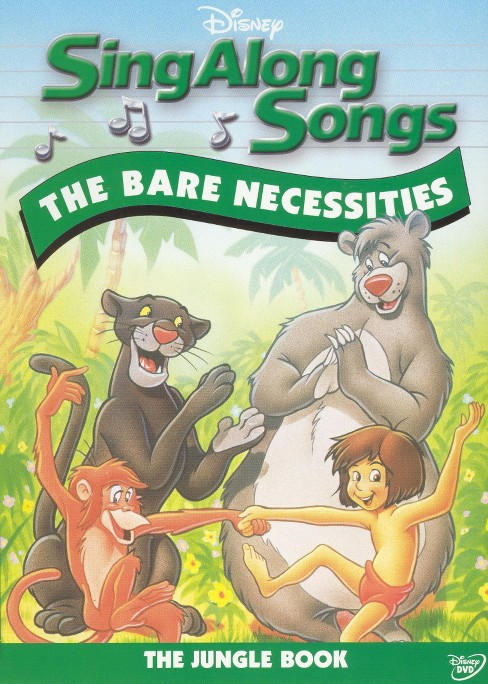 Sing along songs:Bare necessities (DVD) - image 1 of 1