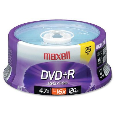 Maxell 639011 4.7Gb Dvd+R Spindle