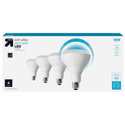 65W 4pk Value Pack LED - Up&Up™