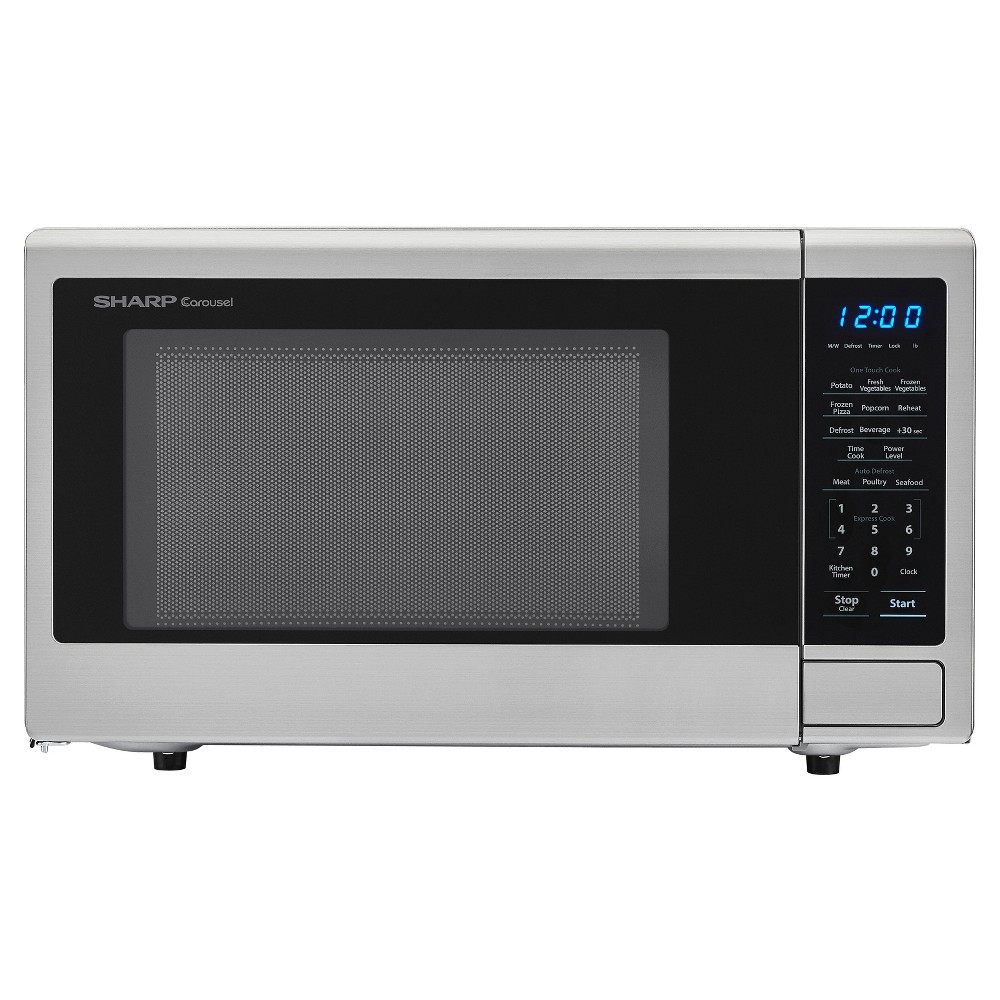 Sharp Orville Redenbacher's Certified 1.1 cu. ft. Microwave - Stainless Steel (Silver)