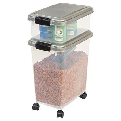 IRIS Airtight Pet Food Storage Set