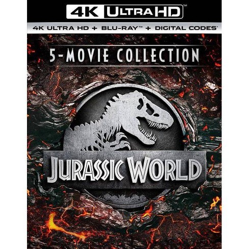 Jurassic World 5 Movie Collection 4k Uhd Target