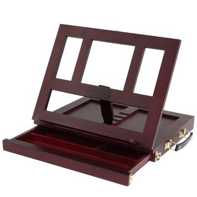 SoHo Portable Wood Table and Desk Easel