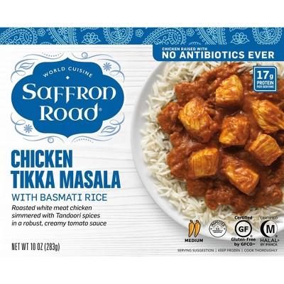 Saffron Road Frozen Chicken Tikka Masala - 10oz