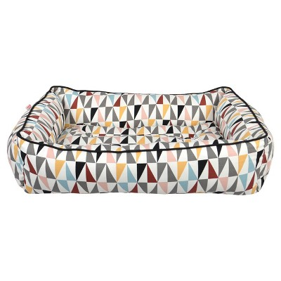 Triangle Multi Cuddler Pet Bed - M - Radiant Gray - Boots & Barkley™