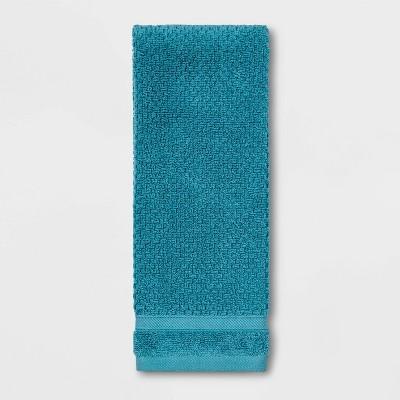 Performance Texture Hand Towel Turquoise - Threshold™