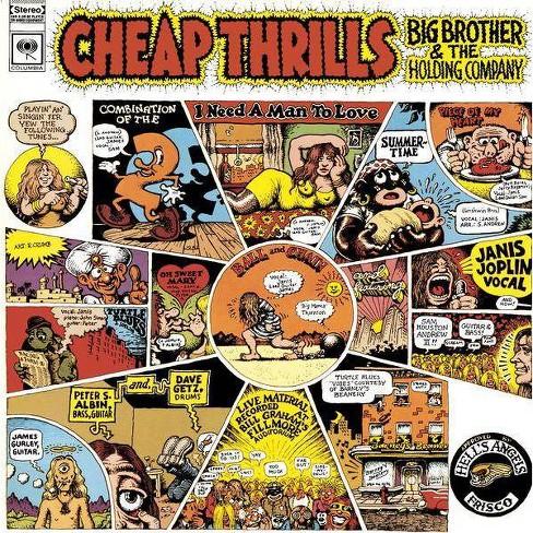 Janis Joplin - Cheap Thrills (CD) - image 1 of 1