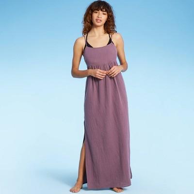 Women's Maxi Cover Up Dress - Shade & Shore™