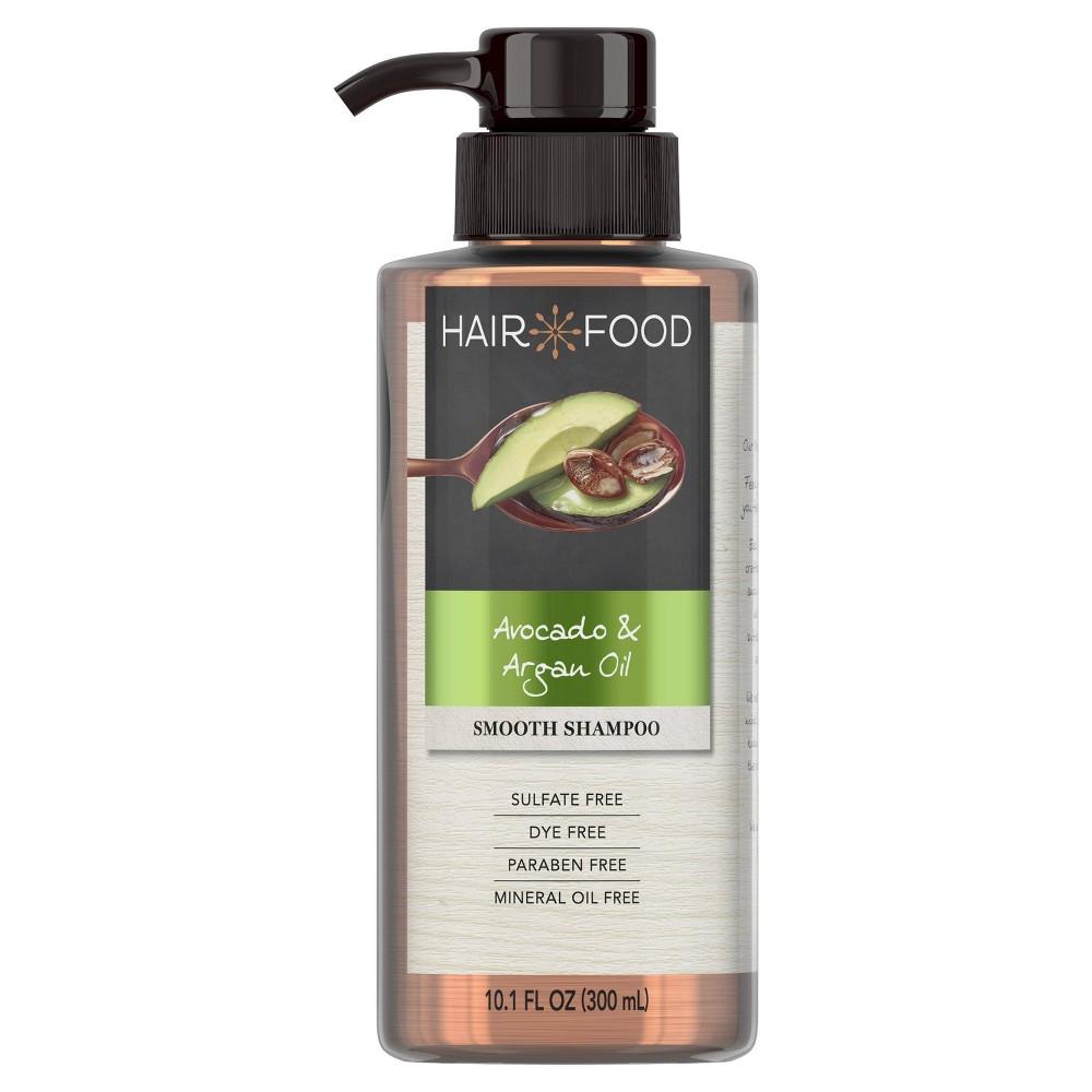 Image of Hair Food Avocado & Argan Oil Sulfate Free and Dye Free Smoothing Shampoo - 10.1 fl oz