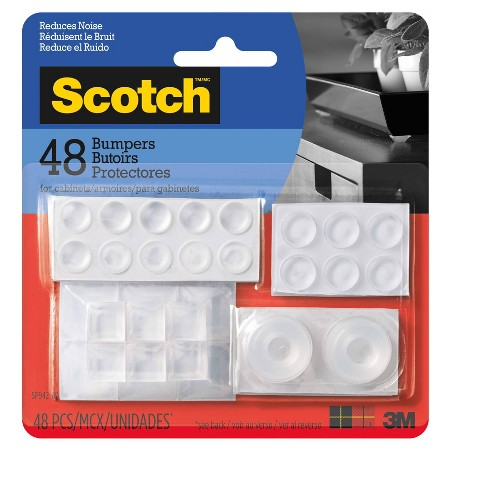 Scotch Bumpers Value Pack - Assorted Clear (48/pk) - image 1 of 2