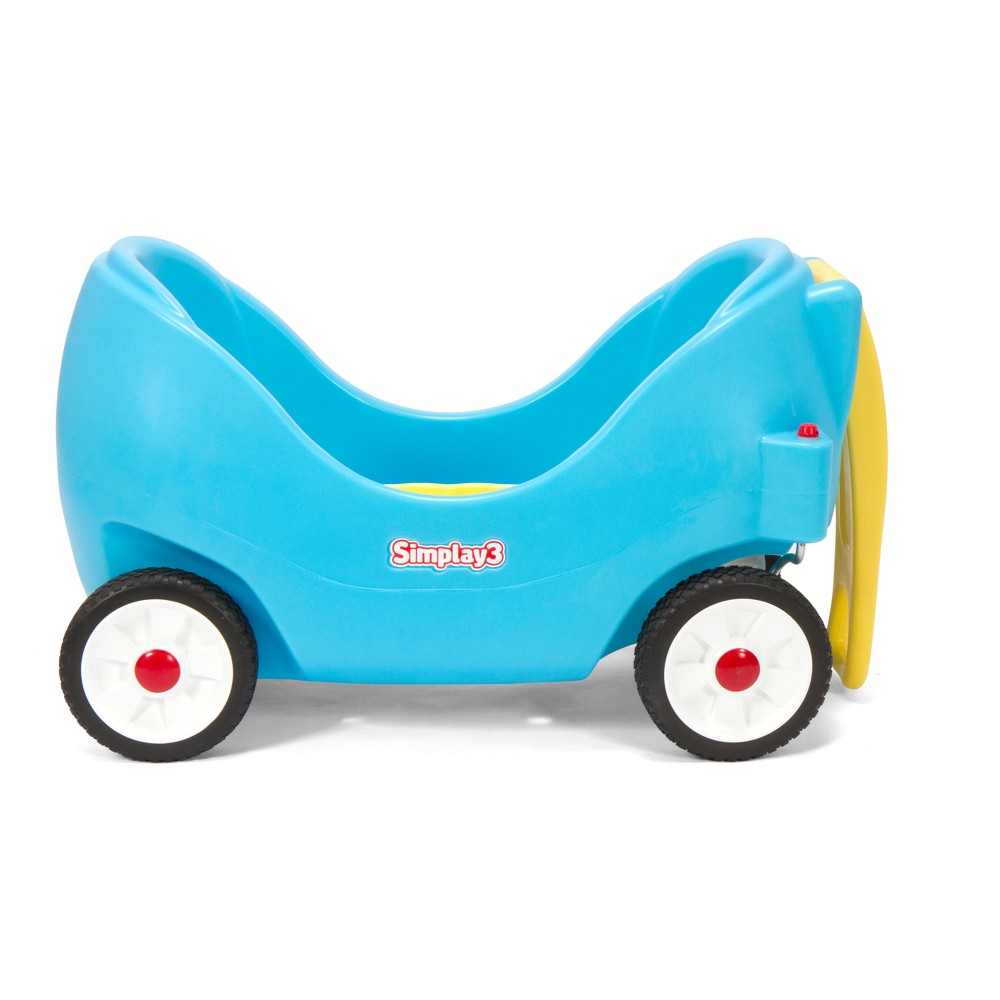 Simplay3 High Back Wagon -Blue, Blue
