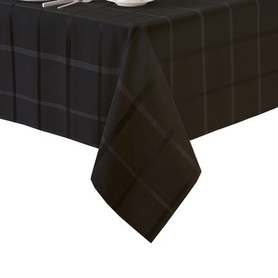 Elegance Plaid Stain Resistant Tablecloth   Elrene Home Fashions