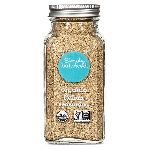 Organic Italian Seasoning - 1.2oz - Simply Balanced™ - image 1 of 1