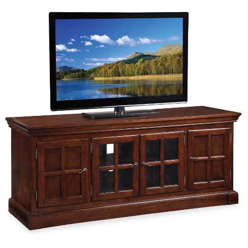 TV Stand Chocolate - Leick Home - image 1 of 4