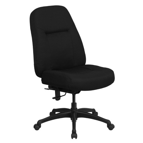 HERCULES Series 400 lb. Capacity High Back Big & Tall Executive Swivel Office Chair Black - Flash Furniture - image 1 of 4