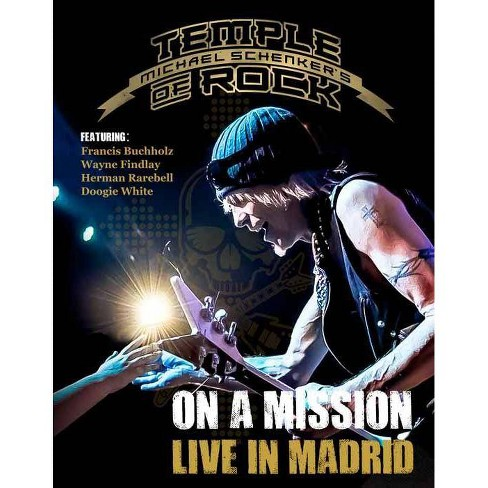 Michael Schenkers: Temple of Rock on a Mission Live Madrid (Blu-ray) - image 1 of 1