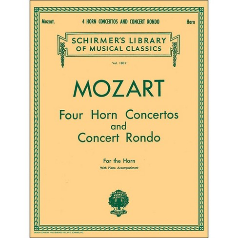 G. Schirmer Four Horn Concertos And Concert Rondo for The Horn with Piano Accompaniment - image 1 of 1