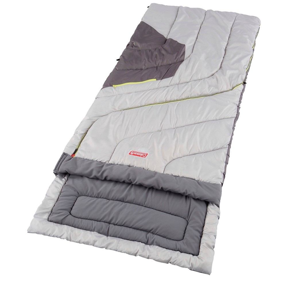 Image of Coleman Adjustable Comfort 50 Degrees Fahrenheit Sleeping Bag - Gray