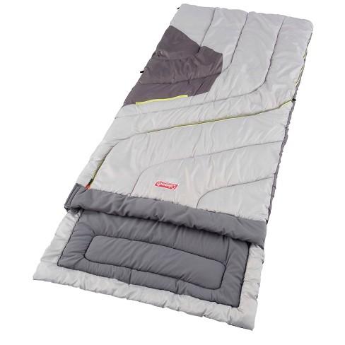 Coleman Adjustable Comfort 50 Degrees Fahrenheit Sleeping Bag - Gray - image 1 of 4