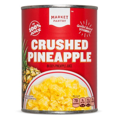 Crushed Pineapple in Juice 20oz - Market Pantry™