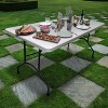 6' Folding Banquet Table Off-White - Plastic Dev Group - image 4 of 4