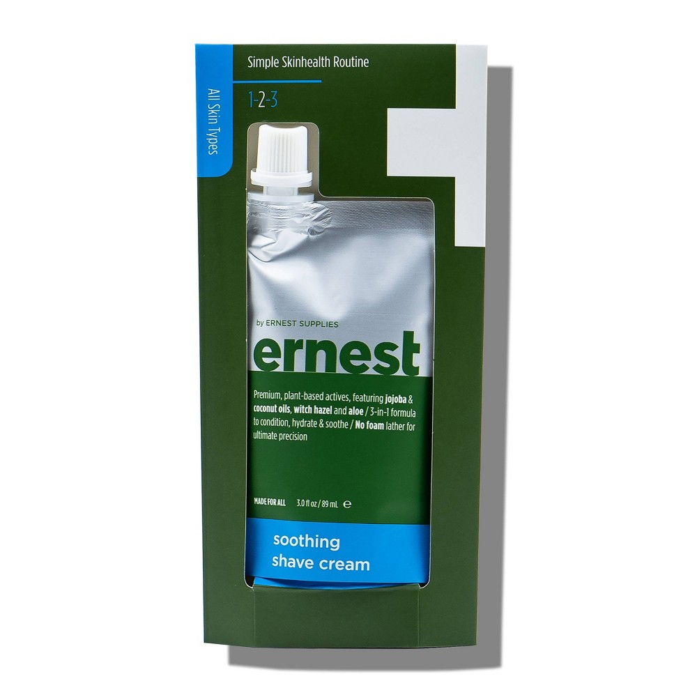 Image of ernest by Ernest Supplies Soothing Shave Cream - 3oz
